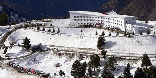 Yatra & Visit of Pakistan Malam Jaba ski resort