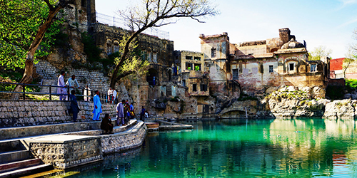 Yatra & Visit of Pakistan Katas Raj Temple